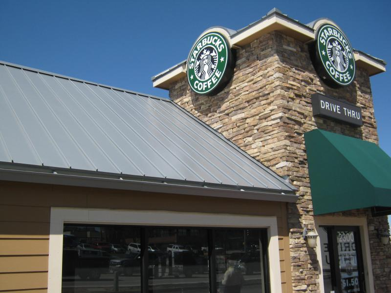 Starbucks by Golden Triangle Mall